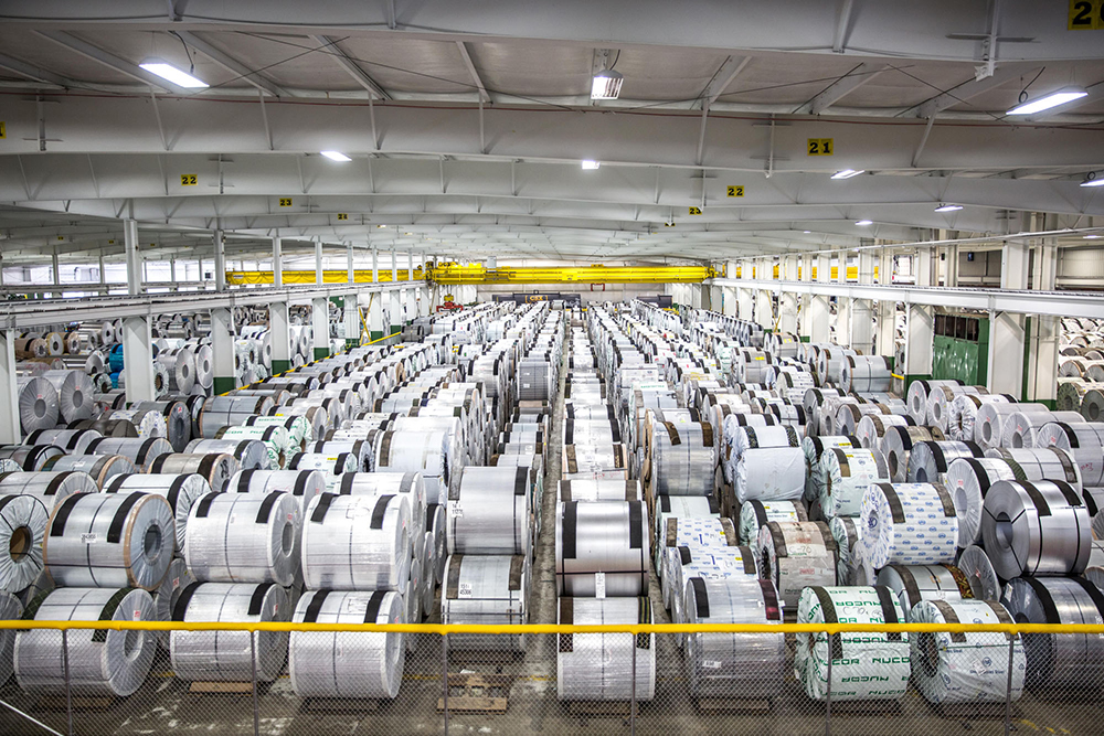 Climate Controlled Coil Warehouse Precision Strip